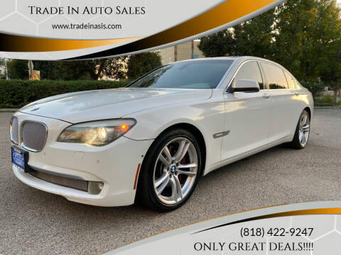 2009 BMW 7 Series for sale at Trade In Auto Sales in Van Nuys CA