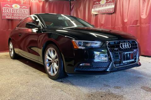 2013 Audi A5 for sale at Roberts Auto Services in Latham NY