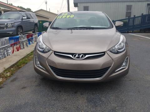 2016 Hyundai Elantra for sale at AUTOPLEX 528 LLC in Huntsville AL