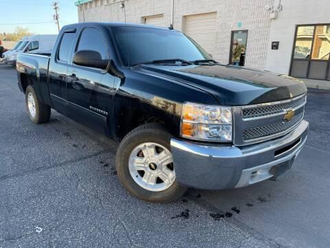 2012 Chevrolet Silverado 1500 for sale at Zapp Motors in Englewood CO