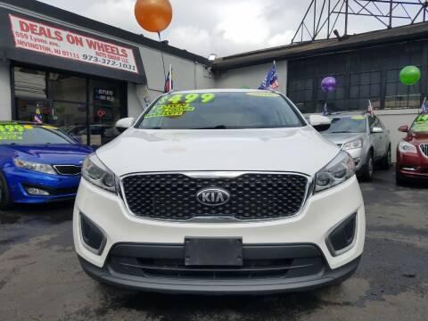 2016 Kia Sorento for sale at Gem Auto Sales in Irvington NJ