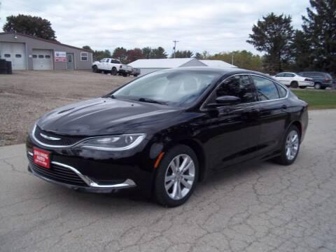 2015 Chrysler 200 for sale at SHULLSBURG AUTO in Shullsburg WI