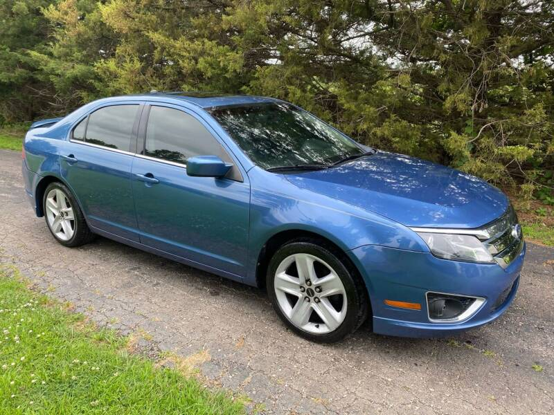 2010 Ford Fusion for sale at Kansas Car Finder in Valley Falls KS