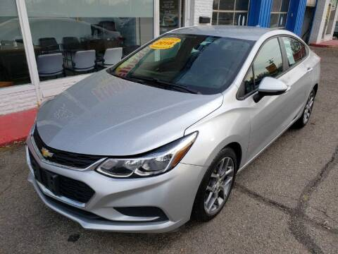 2018 Chevrolet Cruze for sale at AutoMotion Sales in Franklin OH