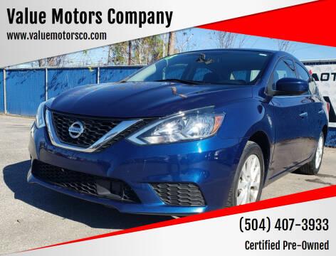 2018 Nissan Sentra for sale at Value Motors Company in Marrero LA