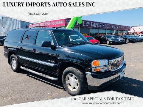 2004 GMC Yukon XL for sale at LUXURY IMPORTS AUTO SALES INC in North Branch MN