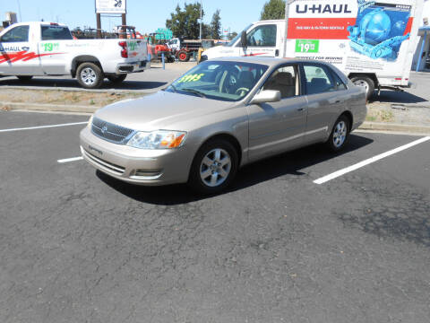 2000 Toyota Avalon for sale at Sutherlands Auto Center in Rohnert Park CA