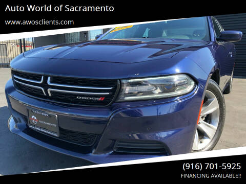 2015 Dodge Charger for sale at Auto World of Sacramento Stockton Blvd in Sacramento CA