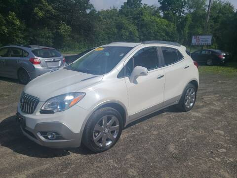 2014 Buick Encore for sale at B & B GARAGE LLC in Catskill NY