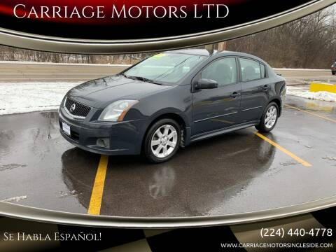 2009 Nissan Sentra for sale at Carriage Motors LTD in Ingleside IL