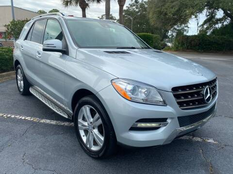 2013 Mercedes-Benz M-Class for sale at GOLD COAST IMPORT OUTLET in St Simons GA