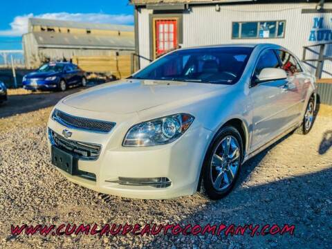 2011 Chevrolet Malibu for sale at MAGNA CUM LAUDE AUTO COMPANY in Lubbock TX