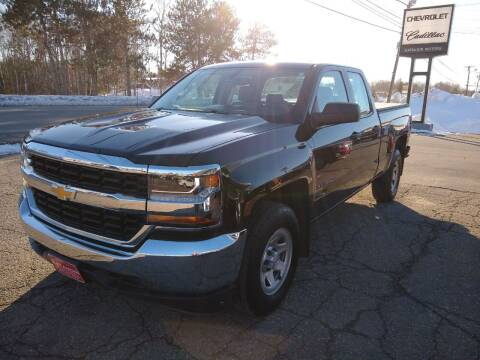 2018 Chevrolet Silverado 1500 for sale at KATAHDIN MOTORS INC /  Chevrolet Sales & Service in Millinocket ME