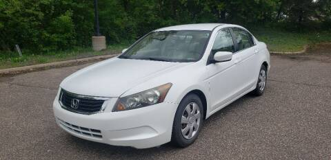2008 Honda Accord for sale at Fleet Automotive LLC in Maplewood MN