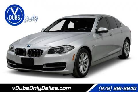2014 BMW 5 Series for sale at VDUBS ONLY in Dallas TX