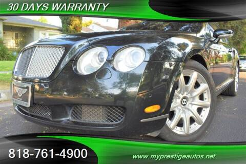 2005 Bentley Continental for sale at Prestige Auto Sports Inc in North Hollywood CA