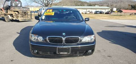 2008 BMW 7 Series for sale at Jacks Auto Sales in Mountain Home AR