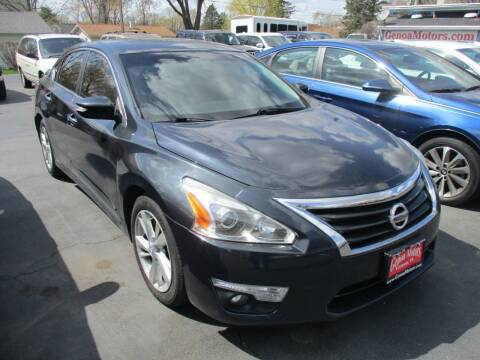 2014 Nissan Altima for sale at GENOA MOTORS INC in Genoa IL