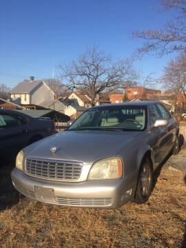 2004 Cadillac DeVille for sale at Village Auto Center INC in Harrisonburg VA