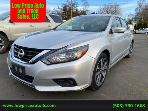2016 Nissan Altima for sale at Low Price Auto and Truck Sales, LLC in Salem OR