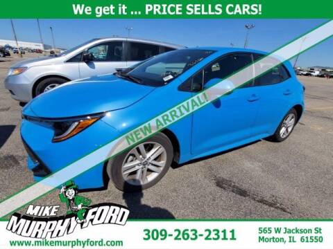 2020 Toyota Corolla Hatchback for sale at Mike Murphy Ford in Morton IL