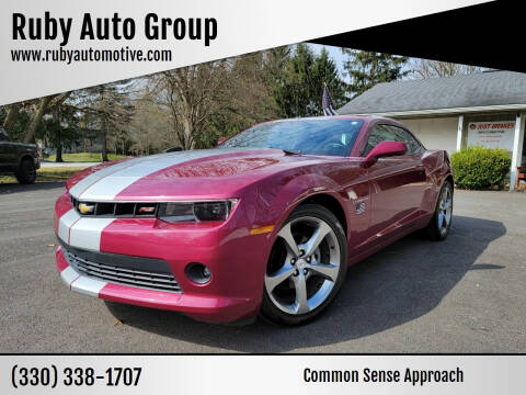 2014 Chevrolet Camaro for sale at Ruby Auto Group in Hudson OH