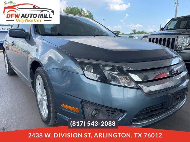 2012 Ford Fusion for sale in Arlington, TX