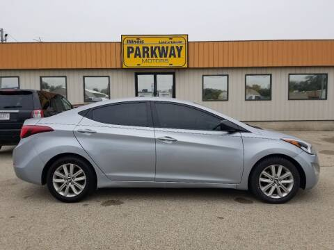 2015 Hyundai Elantra for sale at Parkway Motors in Springfield IL