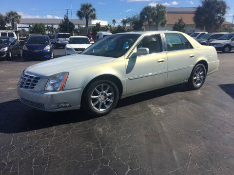 2010 Cadillac DTS for sale at CAR-RIGHT AUTO SALES INC in Naples FL