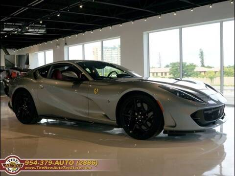 2018 Ferrari 812 Superfast for sale at The New Auto Toy Store in Fort Lauderdale FL