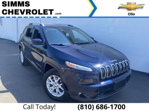 2015 Jeep Cherokee for sale at Aaron Adams @ Simms Chevrolet in Clio MI