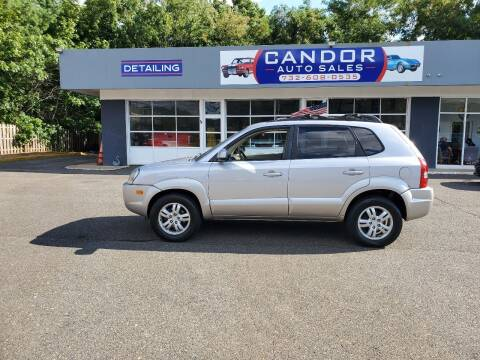2006 Hyundai Tucson for sale at CANDOR INC in Toms River NJ