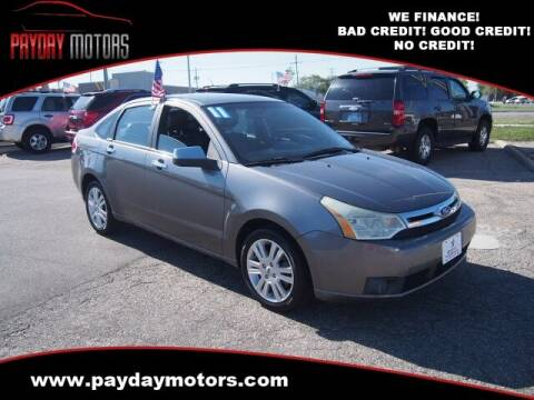 2011 Ford Focus for sale at Payday Motors in Wichita KS