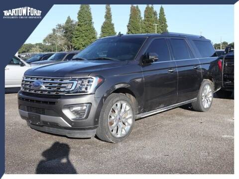 2018 Ford Expedition MAX for sale at BARTOW FORD CO. in Bartow FL