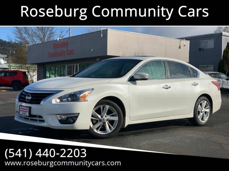 2013 Nissan Altima for sale at Roseburg Community Cars in Roseburg OR