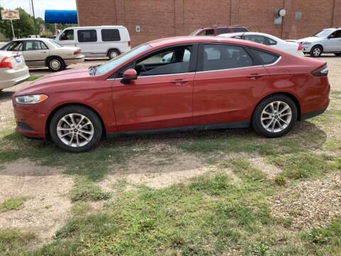2014 Ford Fusion for sale at Paris Fisher Auto Sales Inc. in Chadron NE