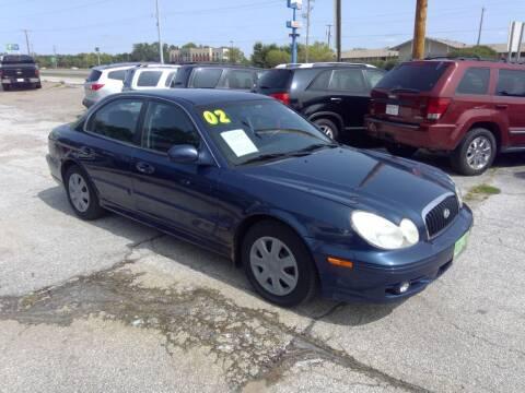 2002 Hyundai Sonata for sale at Regency Motors Inc in Davenport IA