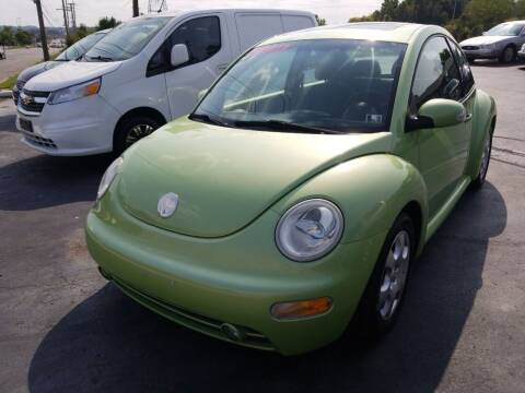 2003 Volkswagen New Beetle for sale at Country Auto Sales in Boardman OH