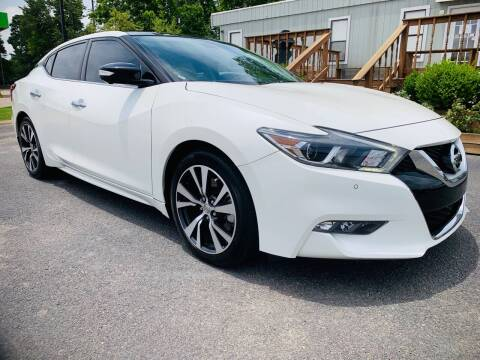 2017 Nissan Maxima for sale at BRYANT AUTO SALES in Bryant AR