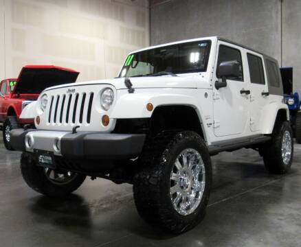 2011 Jeep Wrangler Unlimited for sale at Platinum Motors in Portland OR