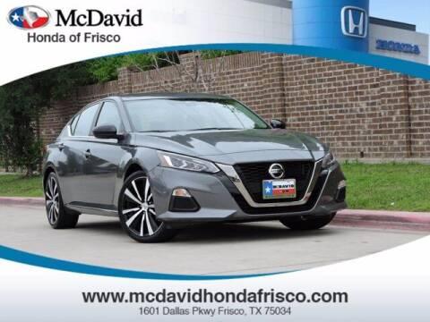 2020 Nissan Altima for sale at DAVID McDAVID HONDA OF IRVING in Irving TX