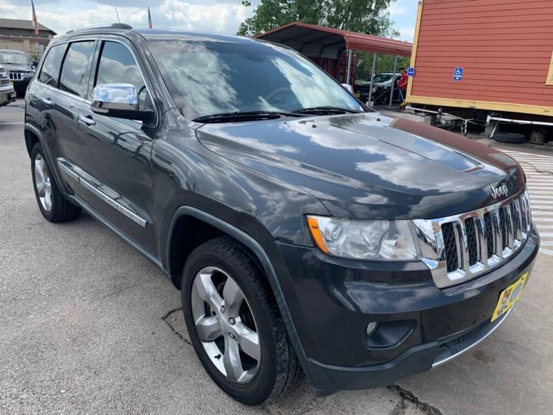 2011 Jeep Grand Cherokee for sale at JAVY AUTO SALES in Houston TX