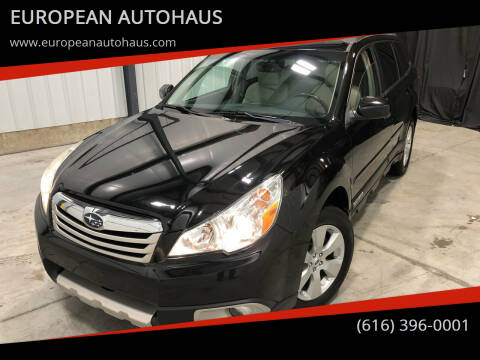 2012 Subaru Outback for sale at EUROPEAN AUTOHAUS in Holland MI