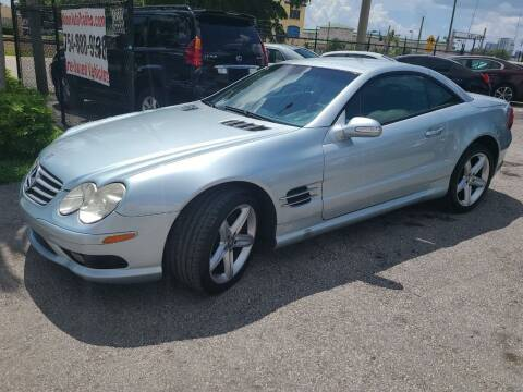 2003 Mercedes-Benz SL-Class for sale at Naber Auto Trading in Hollywood FL