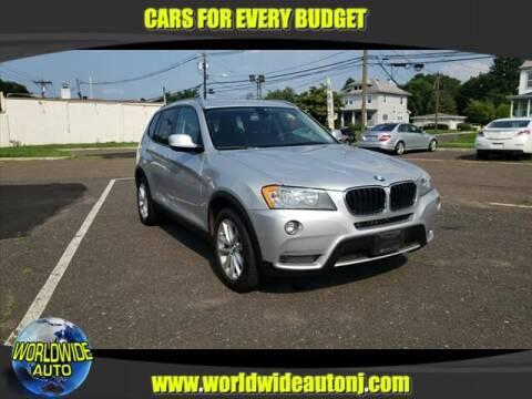 2013 BMW X3 for sale at Worldwide Auto in Hamilton NJ