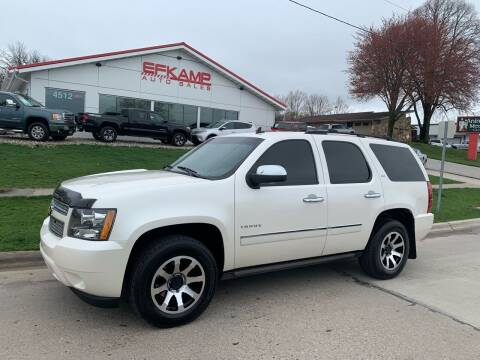 2012 Chevrolet Tahoe for sale at Efkamp Auto Sales LLC in Des Moines IA