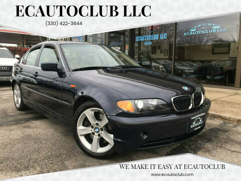 2005 BMW 3 Series for sale at ECAUTOCLUB LLC in Kent OH