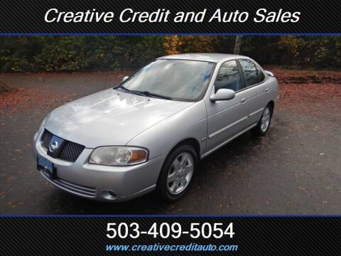 2006 Nissan Sentra for sale at Creative Credit & Auto Sales in Salem OR