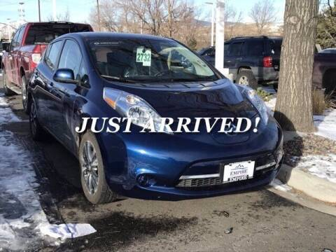 2017 Nissan LEAF for sale at EMPIRE LAKEWOOD NISSAN in Lakewood CO