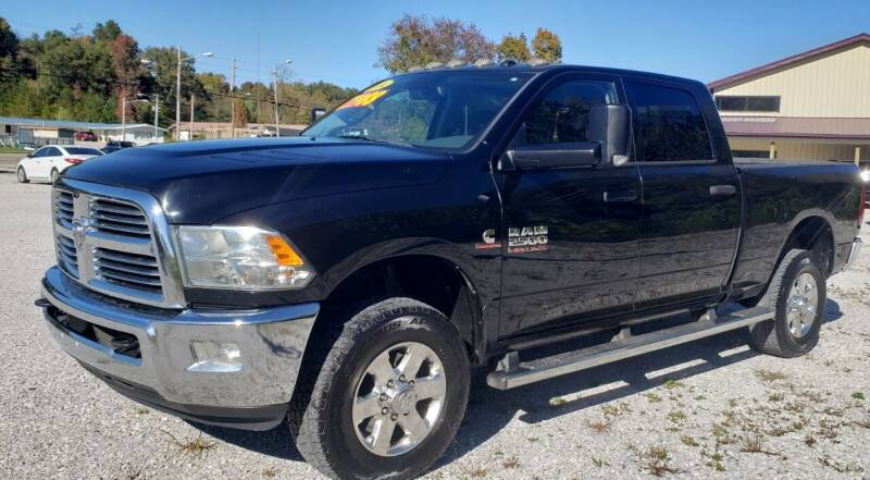 2014 Dodge Ram Pickup 2500 for sale at COOPER AUTO SALES in Oneida TN
